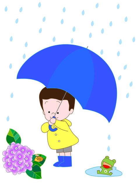 梅雨に突入ですね。