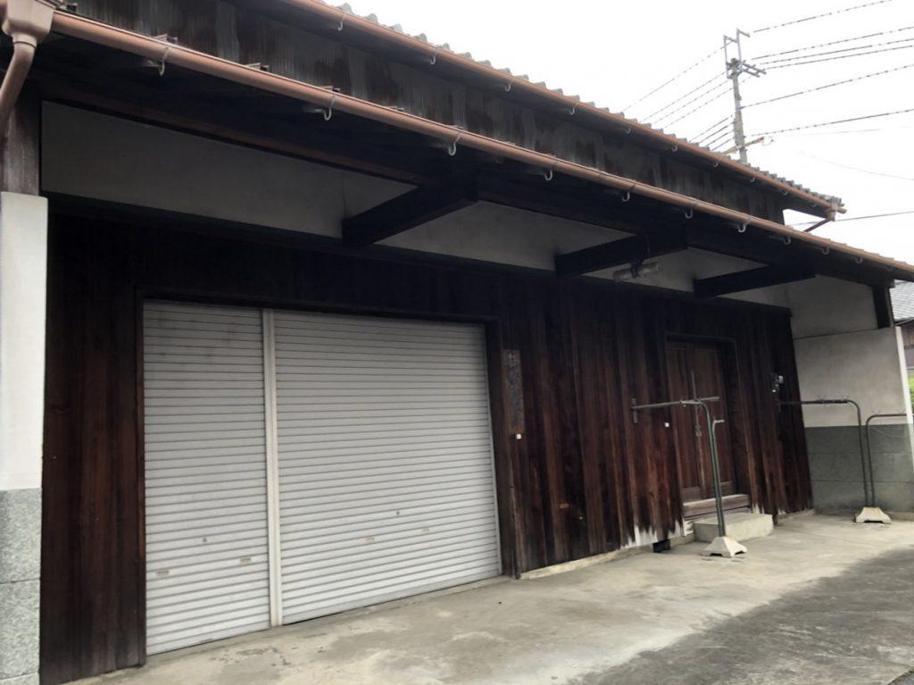 本日の現場であります倉庫です。