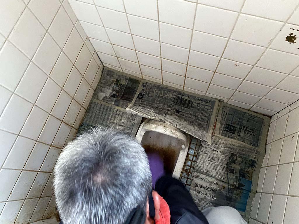 汲取り式トイレの掃除ー大和高田市ー