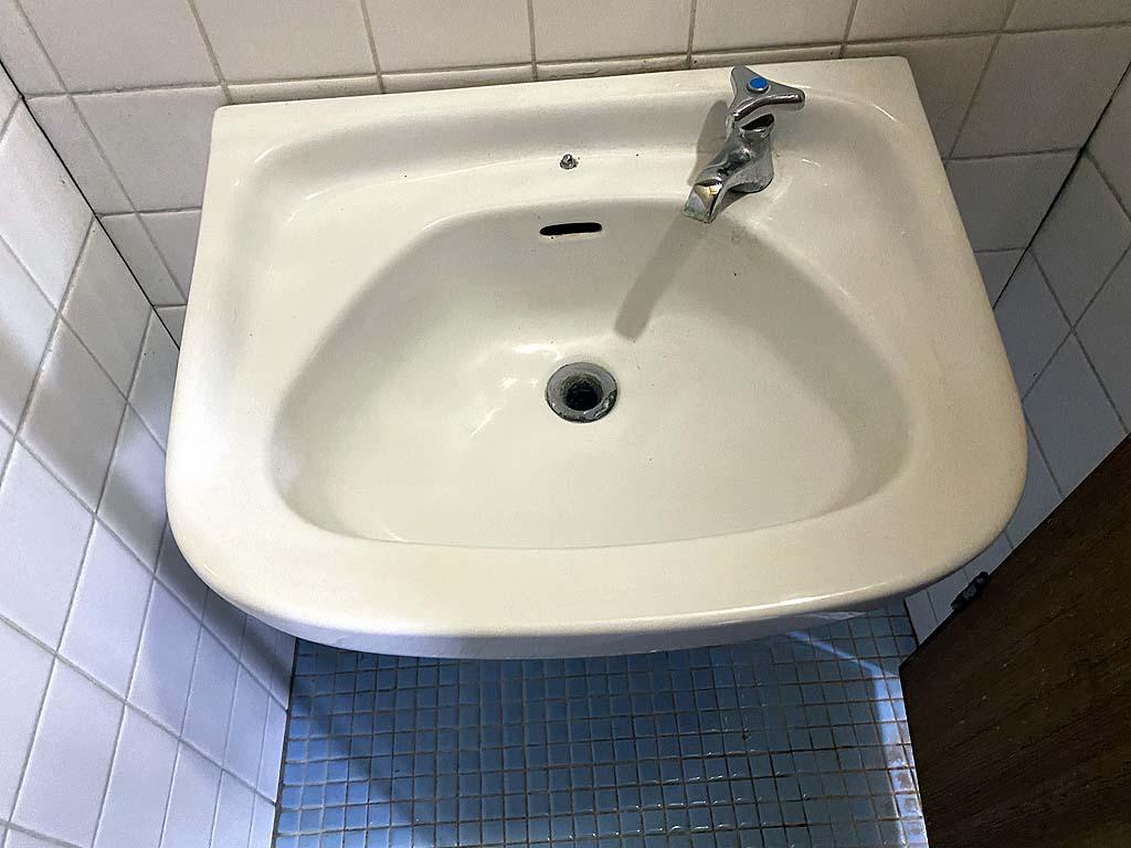 手洗い清掃後