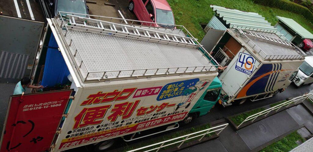 リフォームに伴うお荷物のお預りと仮住まいへのお引越|大阪府茨木市